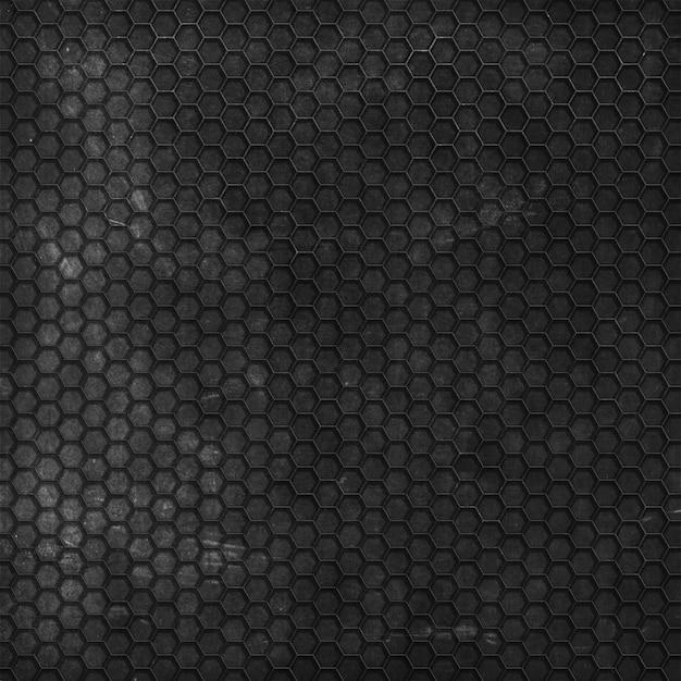 Grunge texture di sfondo con motivo esagonale Foto Gratuite