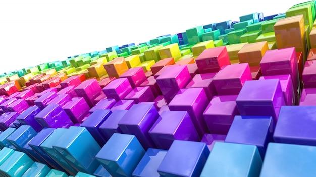 Gruppo di scatole colorate luminose scaricare foto gratis for Foto di ville colorate
