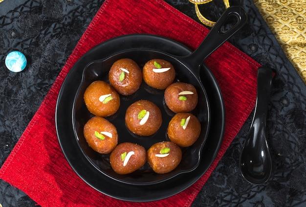 Gulab jamun Foto Premium