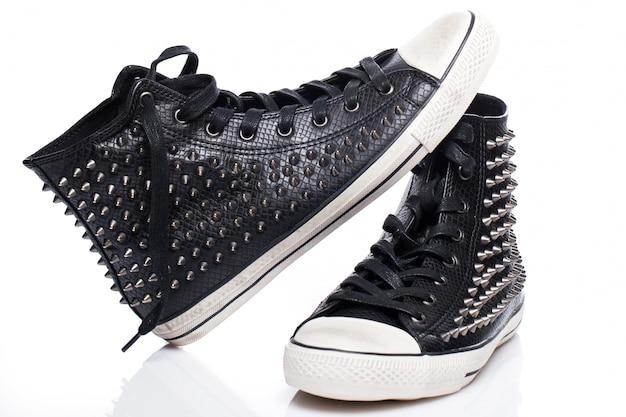 Gumshoes moda nera Foto Gratuite