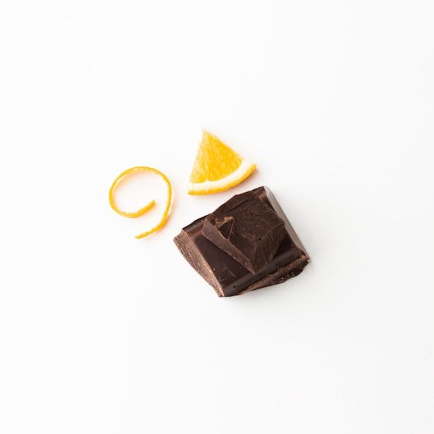 Gustoso cioccolato all'arancia Foto Gratuite