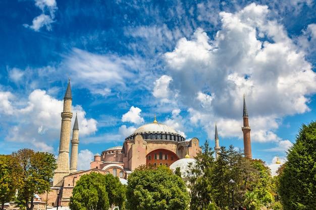 Hagia sophia a istanbul, turchia Foto Premium
