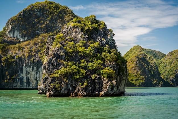 Halong bay, vietnam Foto Premium