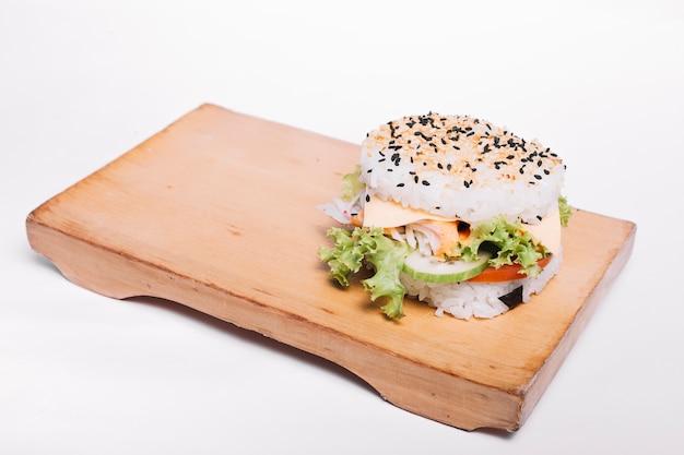 Hamburger di riso Foto Gratuite
