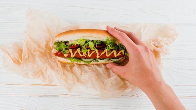 Hot dog Foto Gratuite