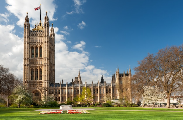 House of parlament di londra Foto Premium