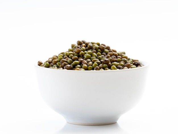 I fagioli verdi in una ciotola Foto Premium