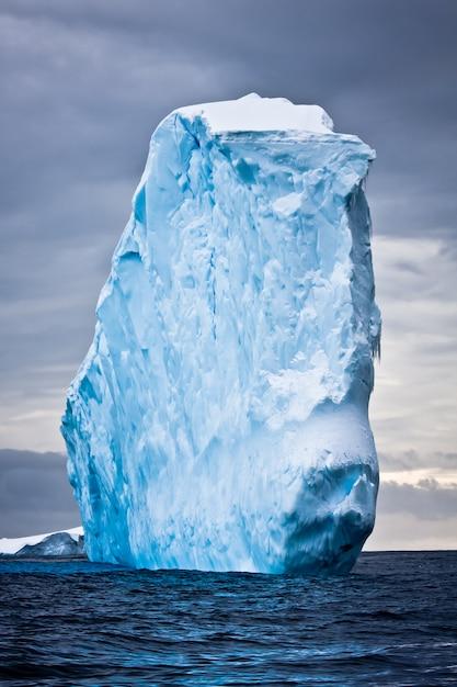 Iceberg antartico Foto Premium
