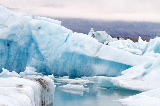Iceberg blu Foto Premium