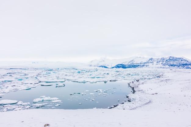 Iceberg in glacier lagoon, islanda. Foto Gratuite