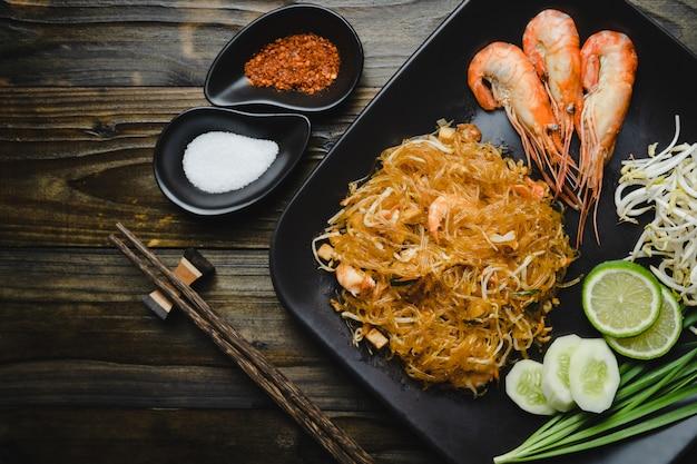 Il cibo tailandese più famoso Foto Premium
