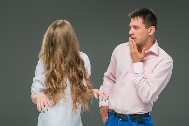 Il conflitto di coppia Foto Gratuite