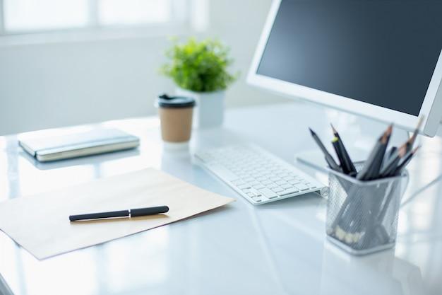 Il desktop di office astratto Foto Gratuite