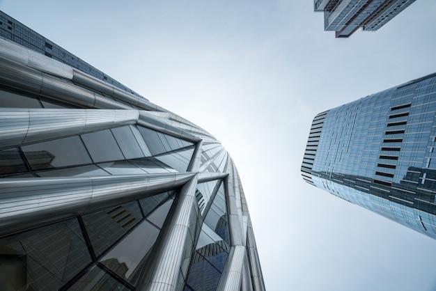 Il grattacielo è a chongqing, in cina Foto Premium