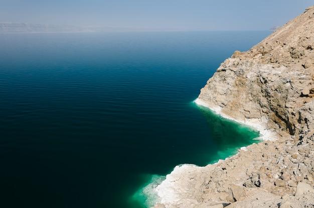 Il mar morto in giordania Foto Premium