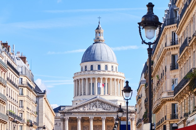 Il pantheon edificio a parigi Foto Premium