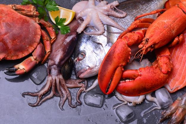 Il pesce più fresco per tutti i gusti Foto Premium