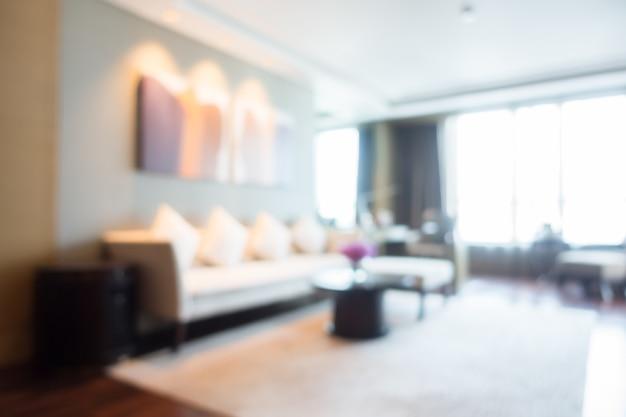 Illuminato soggiorno con tappeto bianco scaricare foto gratis