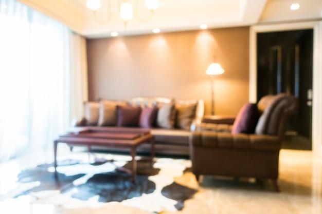 Illuminato soggiorno con un tappeto elegante scaricare foto gratis