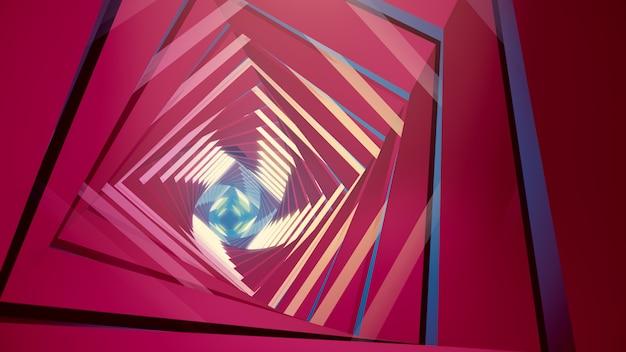 Illustrazione 3d sfondo per pubblicità e carta da parati in scena gatsby e art deco. Foto Premium