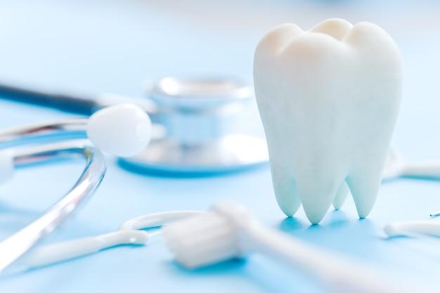 Immagine del concetto di dentale Foto Premium
