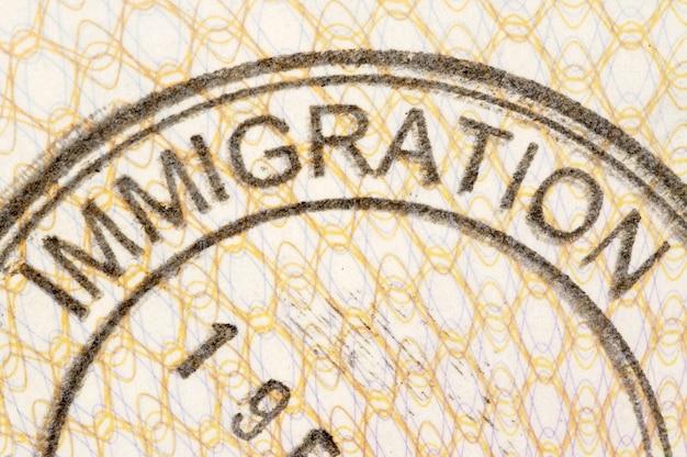 Immigrazione passaporto timbro Foto Gratuite