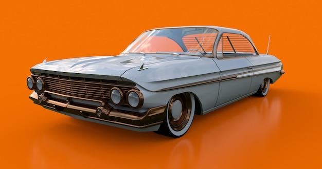 Impostare la vecchia auto americana in ottime condizioni Foto Premium