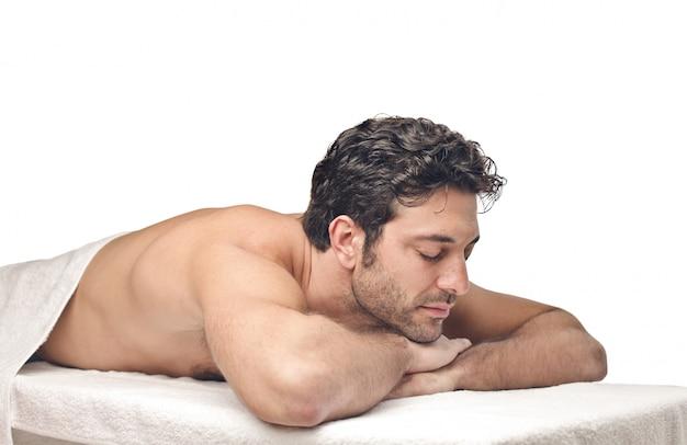 In attesa di un massaggio Foto Premium
