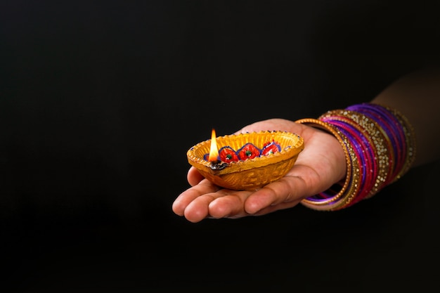 Indian festival diwali Foto Premium