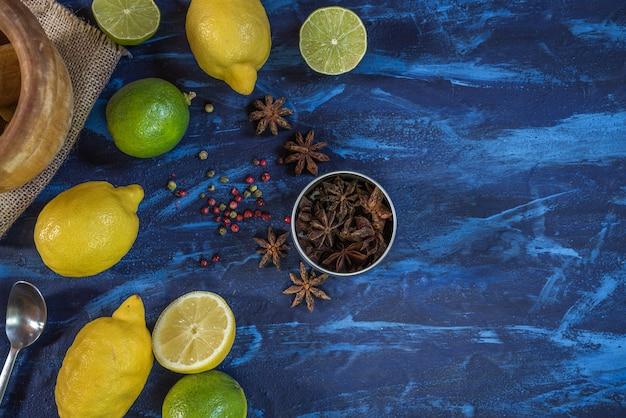 Ingredienti cocktail Foto Premium