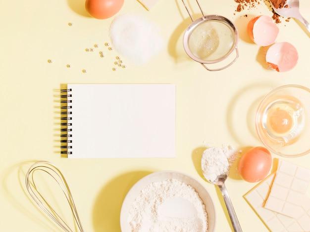 Ingredienti per torta Foto Gratuite
