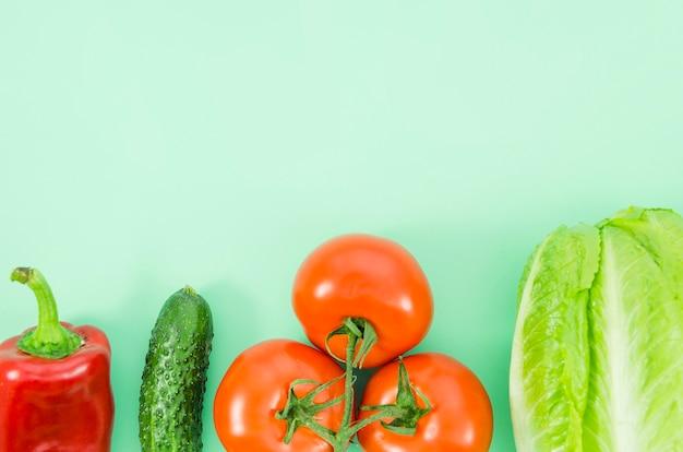 Ingredienti sani inclusi in un'insalata Foto Gratuite