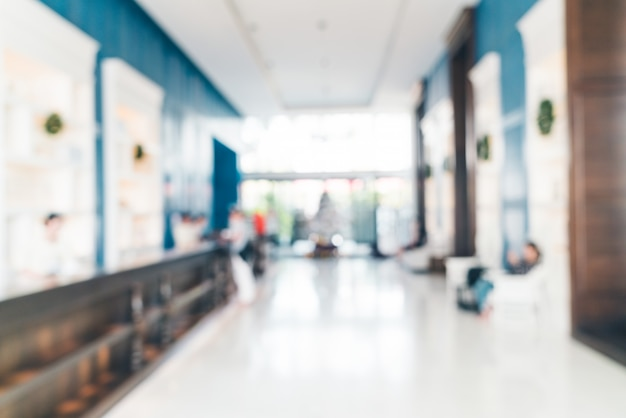 Ingresso dell'hotel blur Foto Gratuite