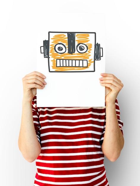 Innovazione nell'automazione di robot science technology Foto Gratuite