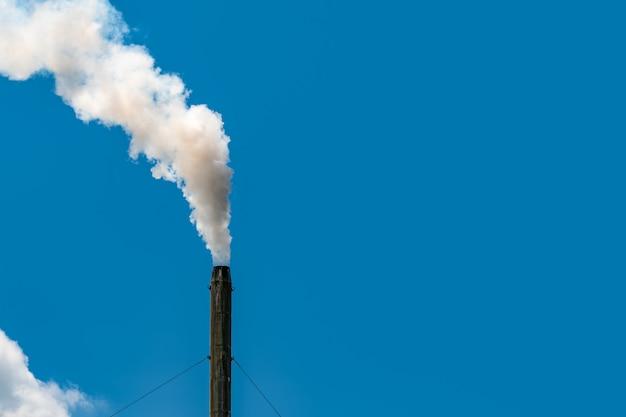 Inquinamento atmosferico dalla fabbrica Foto Premium