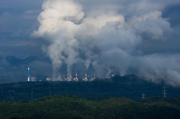 Inquinamento dell'aria Foto Premium