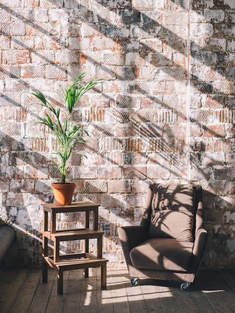 Interior design della stanza o dello studio. Foto Premium