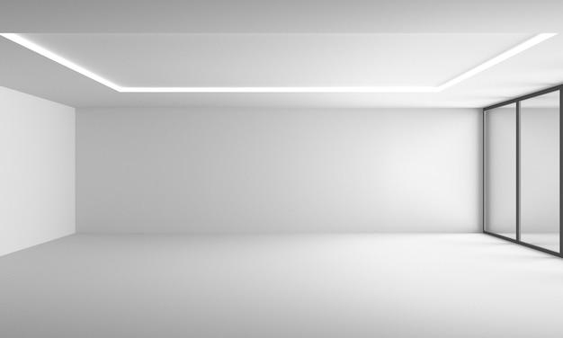 Interior design moderno 3d Foto Premium