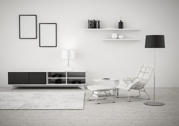 Interior design moderno Foto Premium