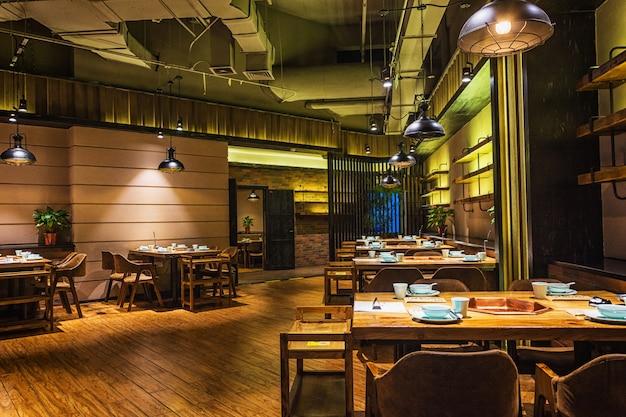 Interni del ristorante Foto Gratuite