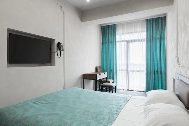 Interno di un nuovo hotel di lusso moderno Foto Premium