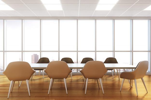 Interno moderno della sala riunioni Foto Premium