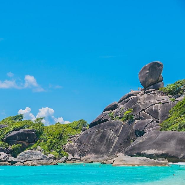 Isola di similan Foto Gratuite