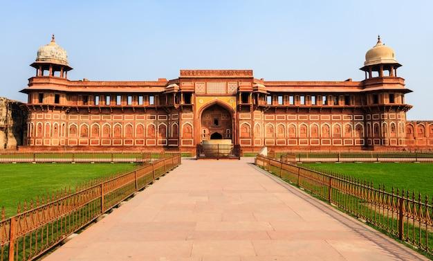 Jahangiri mahal palace a agra, in india Foto Premium