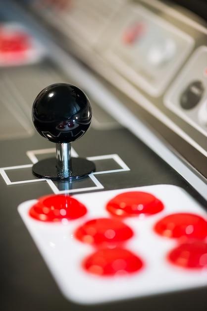 Joystick arcade Foto Premium
