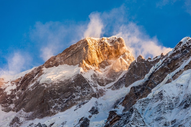 Kedarnath in india Foto Premium