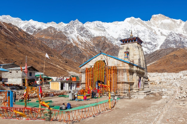 Kedarnath in india Foto Premium