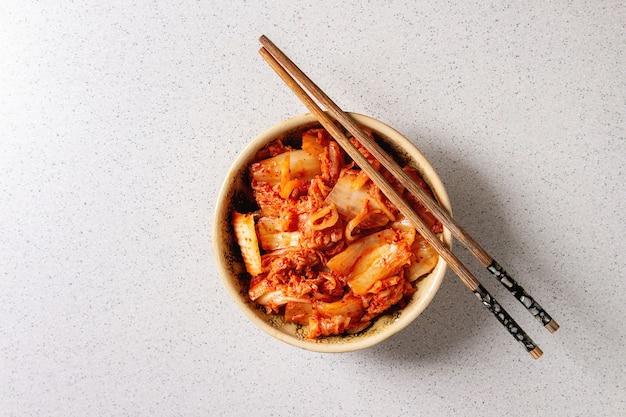Kimchi coreano antipasto Foto Premium