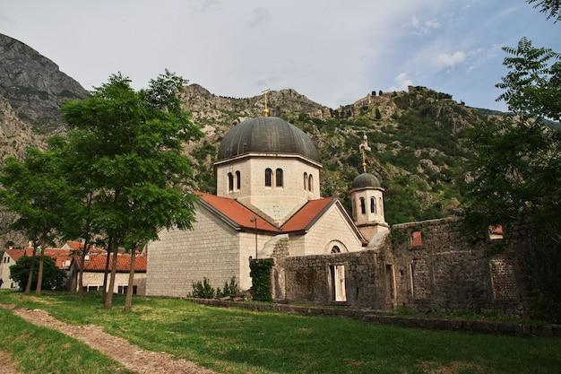 L'antica città di cattaro sulla costa adriatica, montenegro Foto Premium