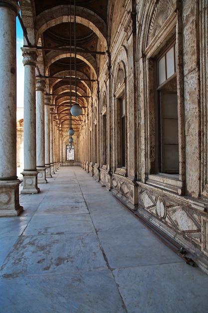 L'antica cittadella nel centro del cairo, in egitto Foto Premium